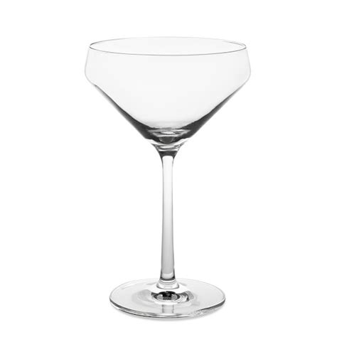 cocktail glass set schott zwiesel pure coupe glasses set of 6
