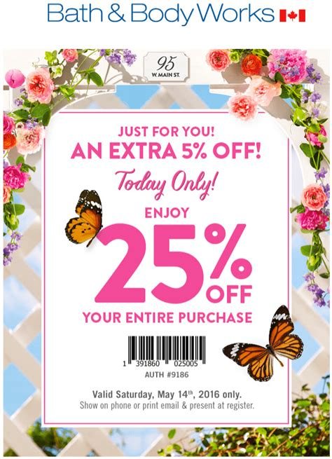 bed bath and body works hours bath body works canada coupons save an extra 25 off