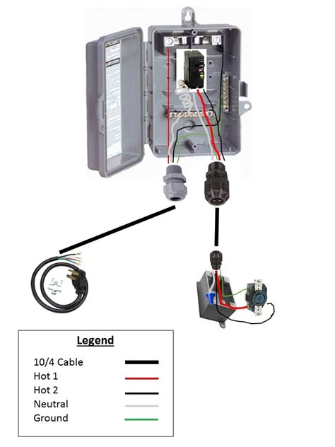 spa gfci wiring diagram gfci free printable
