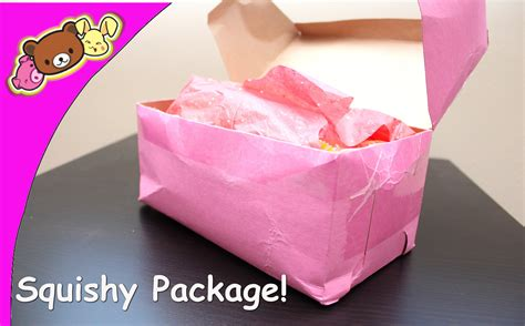 a squishy package squishy package opening disney aoyama tokyo i bloom