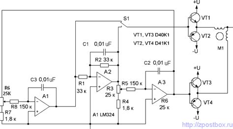 transistor bipolar stepper motor driver stepper motor circuit page 7 automation circuits next gr