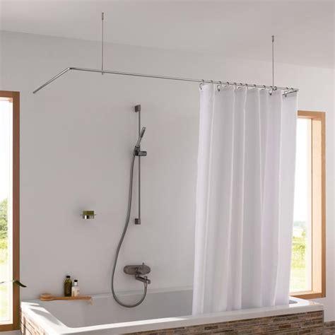 duschvorhangstange u form badewanne duschstange f 252 r freie badewanne bad
