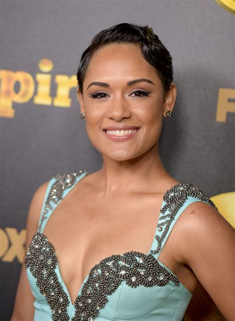 hair styles from empier grace gealey photos photos premiere of fox s quot empire