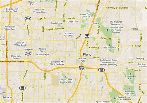map of texas plano plano texas map
