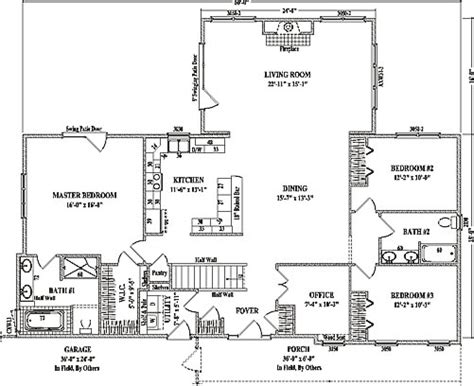 large contemporary ranch style house plan cr 2880 sq ft luxury floor plans for large ranch homes home fatare