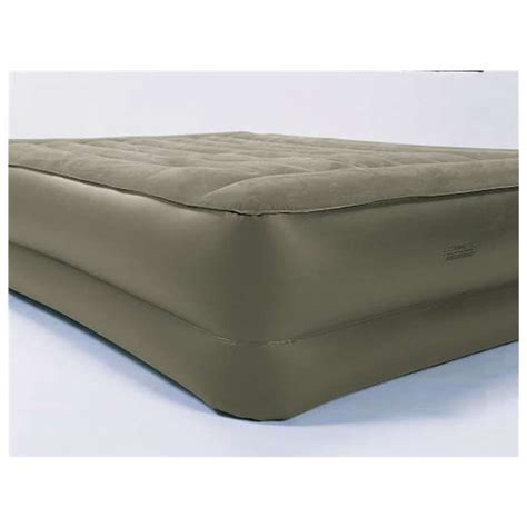 insta bed insta bed queen raised air mattress 822547
