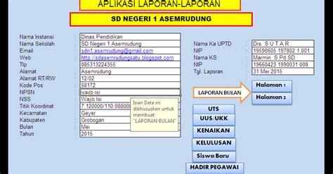 makalah format kegiatan bk aplikasi laporan kegiatan sd negeri 1 asemrudung