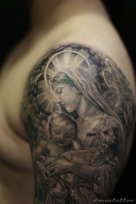 mama mary tattoo design st bng style