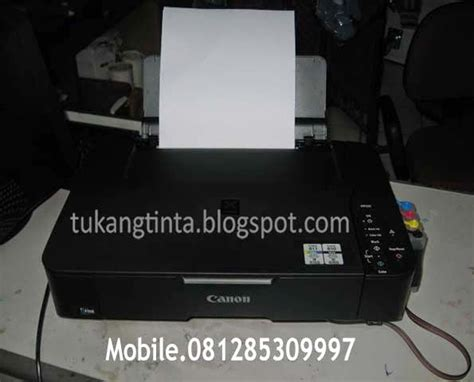 Tinta Printer Canon Mp237 pusat modifikasi printer infus cara pasang instalasi infus printer canon mp237