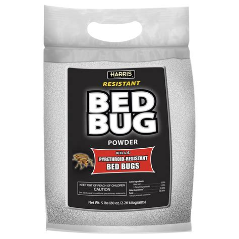 bed bug powder harris 80 oz resistant bed bug powder with applicator brush blkbb p80 the home depot