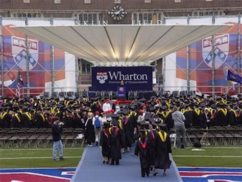 Wharton Mba Graduation 2018 by Wharton Grads More Ethics Needed