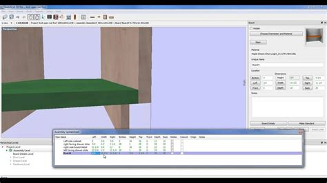 free cabinet design software youtube making a cabinet with cabinet design software youtube