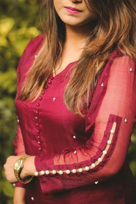 Sleeve Neck 489 best sleeve designs images on blouse