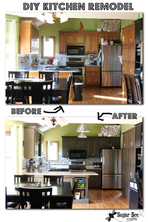 Redoing Kitchen Cabinets Yourself by Kitchen Cabinets Redo Diy Quicua Com