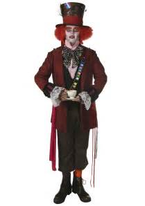 Halloween Costumes Decorations Men S Authentic Mad Hatter Costume