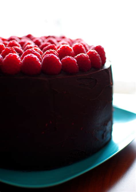 chocolate raspberry chocolate raspberry cake recipe dishmaps