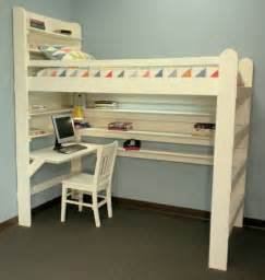 Loft Bed Kits For College 20 Loft Beds With Desks To Save Kid S Room Space Kidsomania