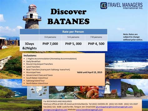 cheap batanes tour package with airfare lifehacked1st