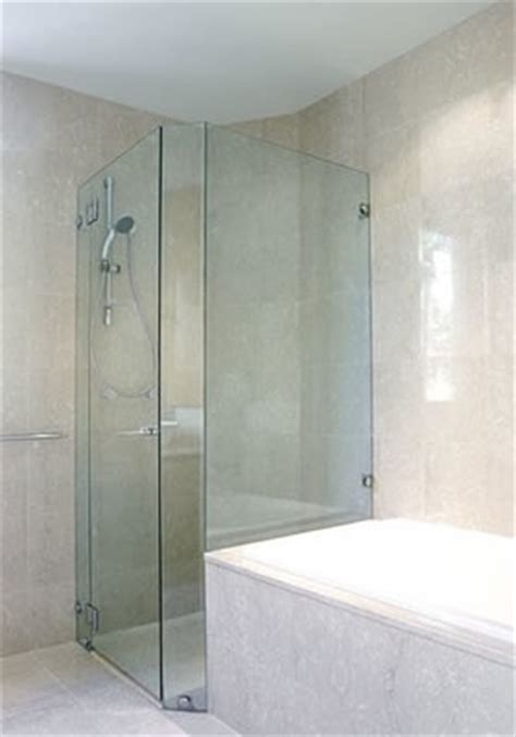 Corner Glass Shower Doors Frameless by Corner Frameless Glass Shower Enclosures