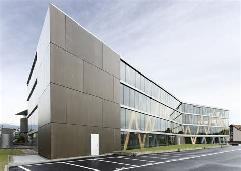 swissquote bank swissquote building in gland link architectes archdaily