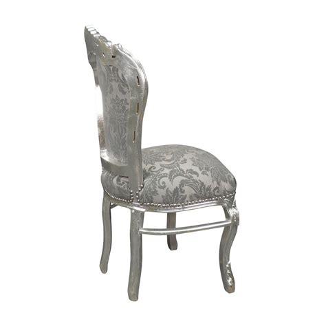 chaises baroque chaise baroque argent rococo meuble baroque