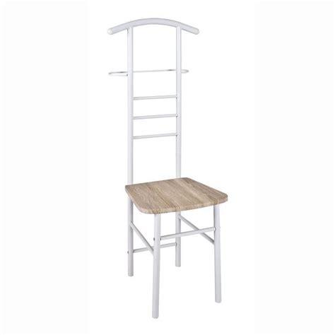 support vetement chambre valet de nuit simple porte vetement chaise achat