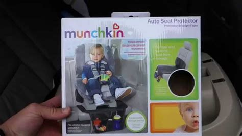 Munchkin Auto Seat Protector munchkin auto car seat protector review