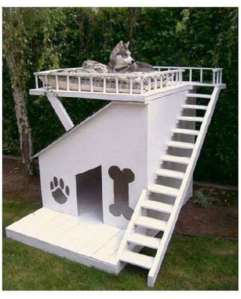 dog house with deck dog house with sun deck amazing dog houses