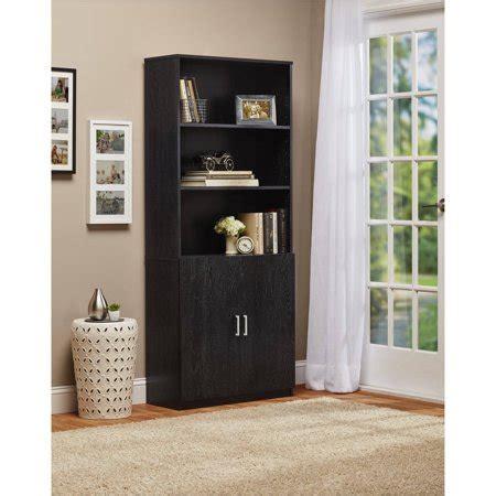 ameriwood  shelf bookcase  doors walmartcom