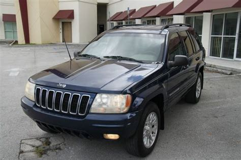 2002 Jeep Grand Sport Purchase Used 2002 Jeep Grand Limited Sport