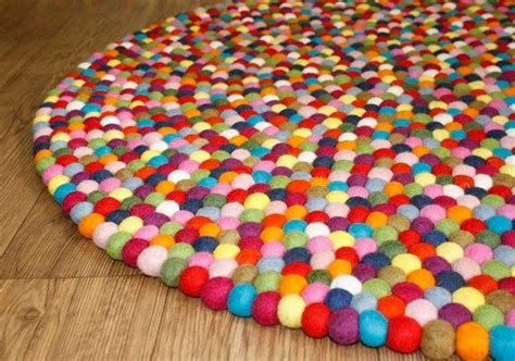 How To Make A Felt Rug by Felt Rug Freckle Free Shipping In Australia
