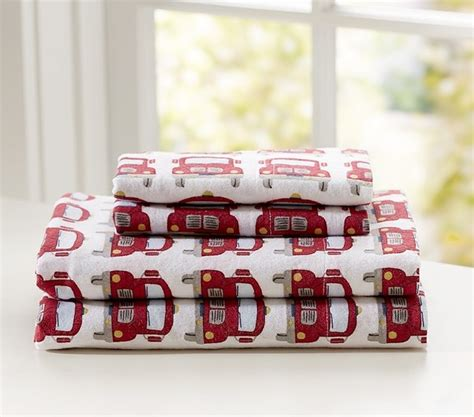 fire truck baby bedding fire truck flannel sheeting kids bedding san francisco