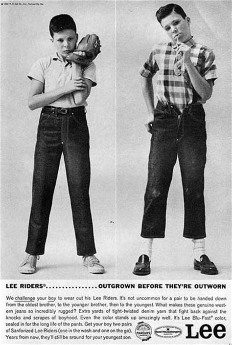 wearing classic denim 1950s blue jeans dandy man ted a guide to denim the art of manliness