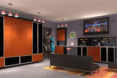 Kitchens With Grey Cabinets 29 garage storage ideas plus 3 garage man caves