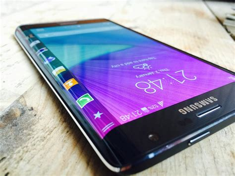 New Hp Samsung Note 4 Scoopy samsung galaxy note edge curved display on one side