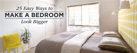 how to make small bedrooms look bigger 25 ways to make a small bedroom look bigger shutterfly
