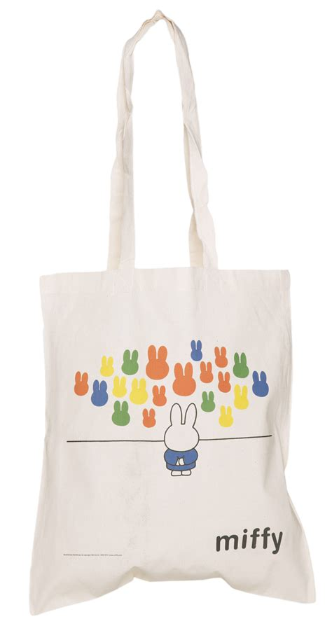 miffy art gallery canvas tote bag