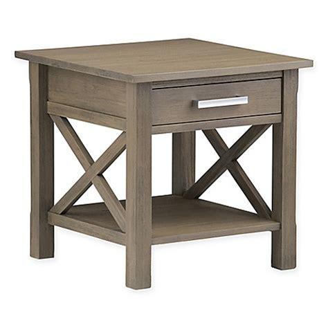 international furniture kitchener simpli home kitchener end table bed bath beyond