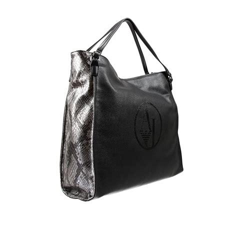 Giorgio Armani Handbag Big Size giorgio armani handbag in black lyst