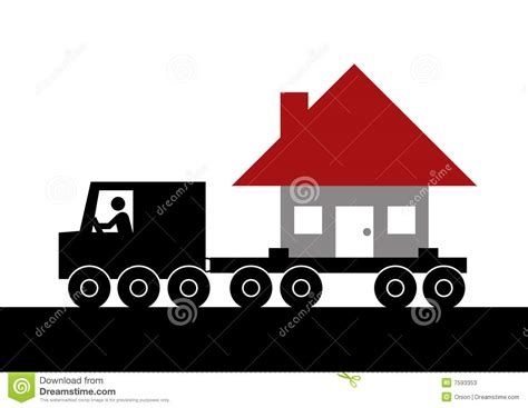 free houses to move moving house graphic stock photos image 7593353