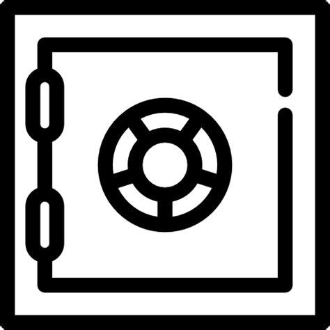 caja fuerte en banco caja fuerte de banco iconos gratis de seguridad