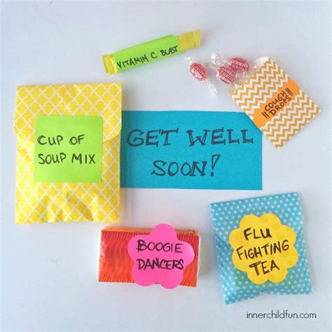 diy get well soon package inner child fun