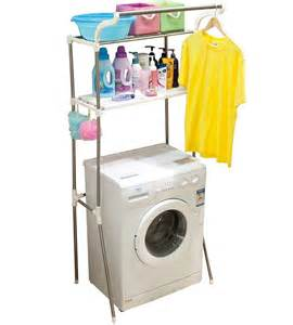 Above The Rack by Washing Machine Storage Rack In Laundry Room Organizers