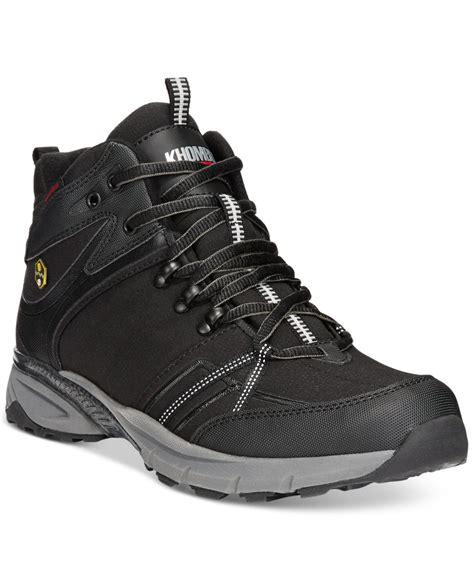 khombu boots mens khombu s hiker waterproof boots in black for lyst