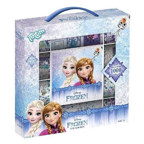 Box Of Frozen Stickers frozen sticker box 123babyfits nl