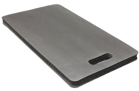 condor kneeling mat 22 x 12 in rubber black 22en50