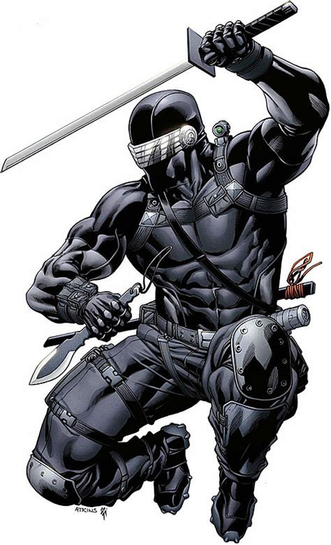 snake eyes gi joe marvel comics larry hama ninja