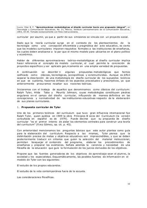 Diseño Curricular Definicion Diaz Barriga Diaz Barriga F Aproximaciones Metodologicas Al Diseno Curricular
