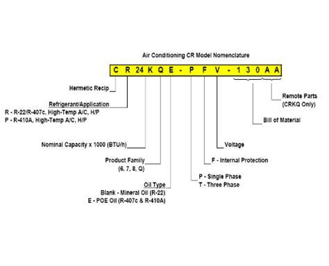 copeland reciprocating compressor general ac