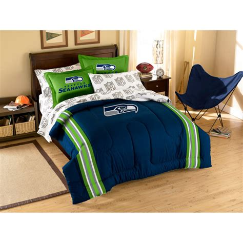 seahawks bedding twin nfl seattle seahawks applique comforter nfl comforter set